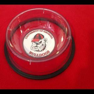 University Of Georgia Bulldogs Pet Bowl